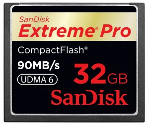 SanDisk Compact Flash Extreme Pro 90MB/s 32GB Karta pamięci