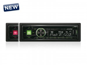Alpine CDE-173BT - radioodtwarzacz CD/USB/BT