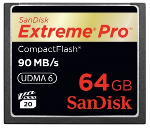 SanDisk Compact Flash Extreme Pro 90MB/s 64GB Karta pamięci