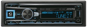 Alpine CDE-193BT - odtwarzacz CD I IPOD z bluetooth